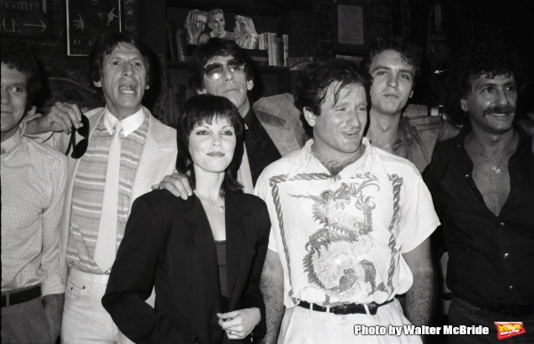 Joe Piscopo, David Brenner, Richard Belzer, Pat Benatar, Robin Williams, Neil Giraldo Photo