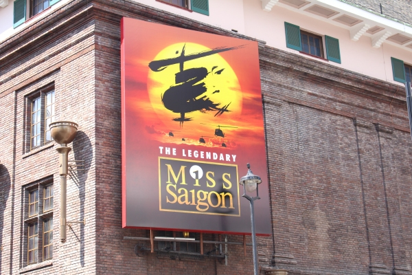 Photo Coverage: Behind The Scenes - Hugh Maynard Of MISS SAIGON!