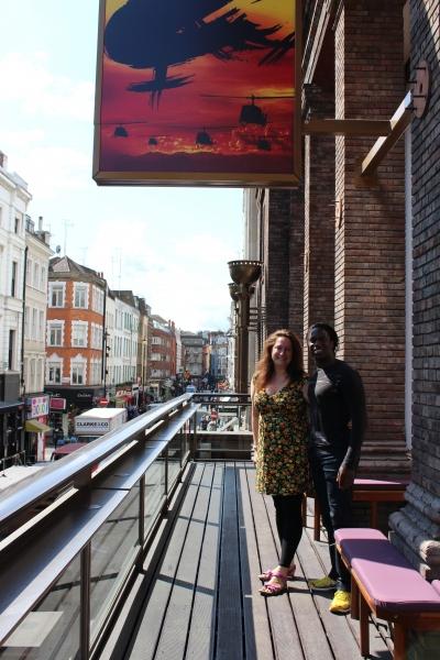 Photo Coverage: Behind The Scenes - Hugh Maynard Of MISS SAIGON!