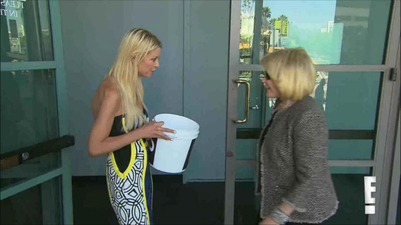 Joan Rivers Completes Ice Bucket Challenge with Help From.... Tara Reid?