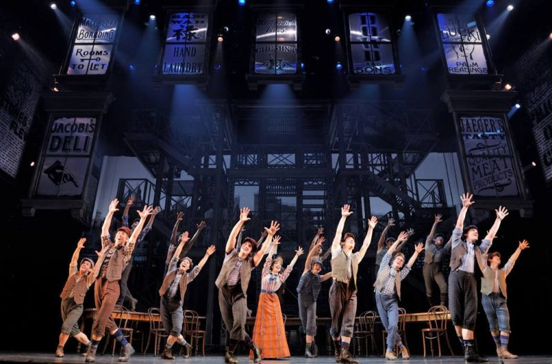 The Bottom Line- Broadway Bids Farewell to NEWSIES!