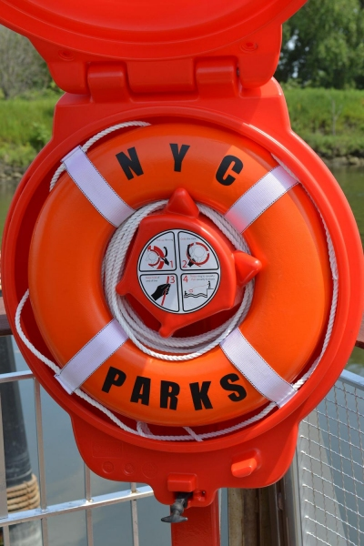 Photo Flash: NYC Parks Unveils Life Rings and Other Water Safety Measures at City Boat Launches