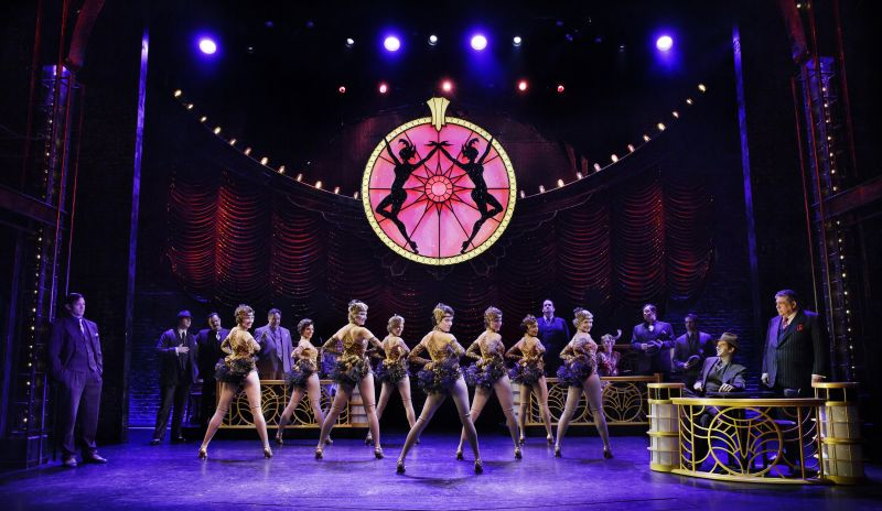 BWW Flashback: BULLETS OVER BROADWAY Closes on the Great White Way