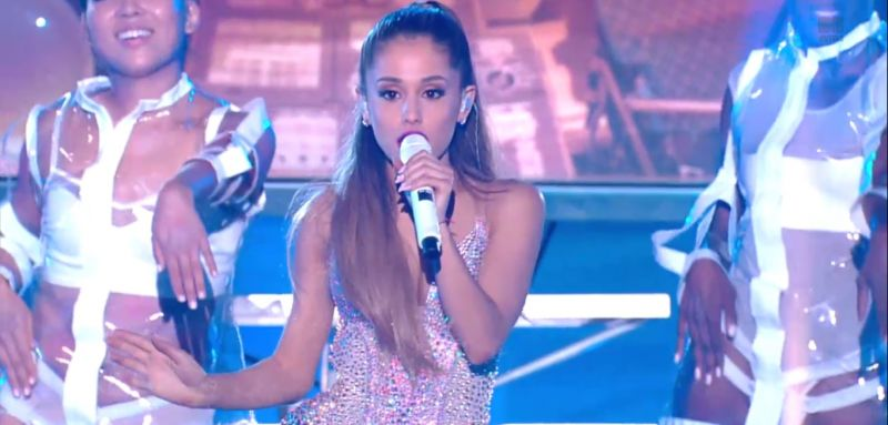 Ariana Grande Performs, Takes Home Moon Man at MTV VMAs