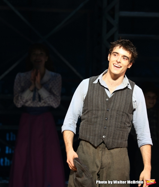 Photo Coverage: NEWSIES Cast Takes Final Broadway Bows at Nederlander Theatre!