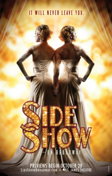 Photo Flash: Artwork Revealed for Broadway's Reimagined SIDE SHOW!