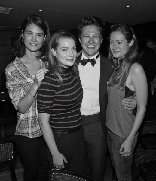Photo Flash: THE LION's Benjamin Scheuer and More Party at the St. James