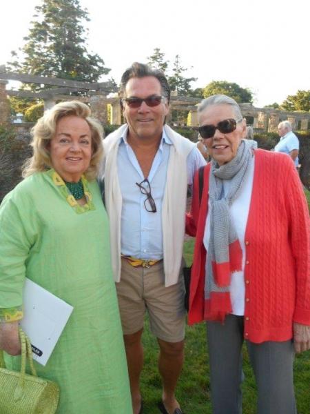 Myra Weiser, Peter Hallock, Barbara Sloan
