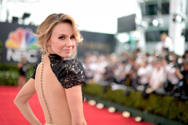66th ANNUAL PRIMETIME EMMY AWARDS -- Pictured: TV personality Keltie Knight arrives to the 66th Annual Primetime Emmy Awards held at the Nokia Theater on August 25, 2014--  (Photo by: Jason Kempin/NBC)