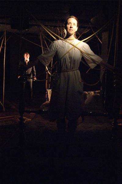 Ed Krystosek as John and Lorelei Sturm as The Woman