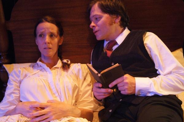 Lorelei Sturm as The Woman, Ed Krystosek as John