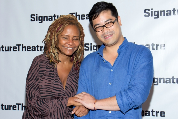 Photo Coverage: Signature Theatre Celebrates Opening Night of AND I AND SILENCE