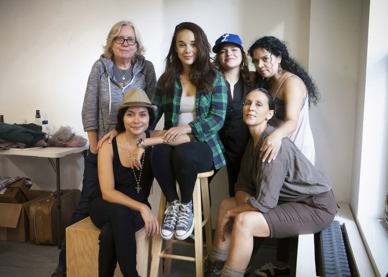Photo Flash: In Rehearsal with TO THE BONE at Cherry Lane Theatre