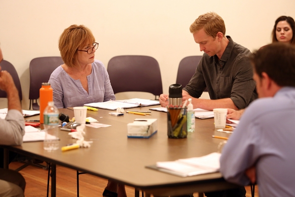 Photo Flash: In Rehearsal with Roderick Hill, Erik Heger and More for Off-Broadway's STALKING THE BOGEYMAN