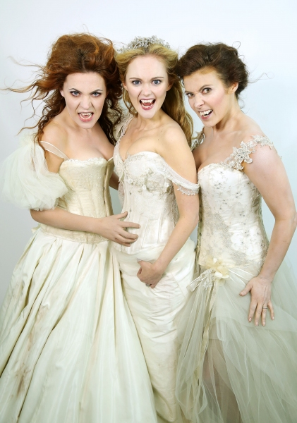 Photo Flash: Meet the JONATHAN HARKER AND DRACULA Tour's 'Brides of Dracula'