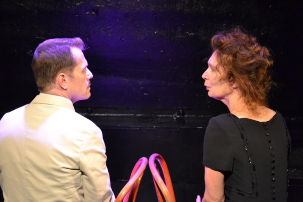 PennyLynn White as Laurette Taylor with Paul Thomas Ryan as Tennessee Williams