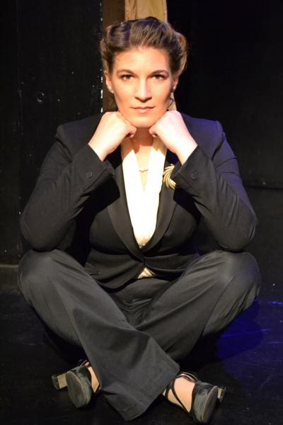 Kristen Gehlign as legendary theatre director Margo Jones Photo