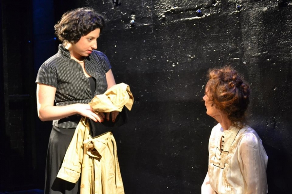 Kimberly Faye Greenberg as Marguerite with PennyLynn White as Laurette Taylor