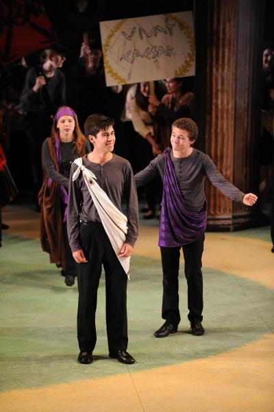 The Old Globe''s 2014 Summer Shakespeare Intensive for high school students presented one-hour versions of Julius Caesar and The Comedy of Errors in the Lowell Davies Festival Theatre on Aug. 18, 2014.