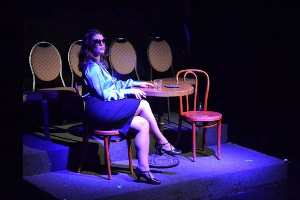 Photo Flash: First Look at Suzanne Froix and More in Beautiful Soup's SHADES OF BLUE