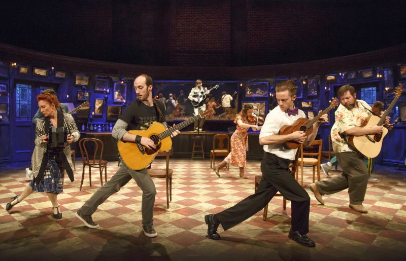 BWW Reviews: Tony-Winning ONCE Makes Stirring OC Debut
