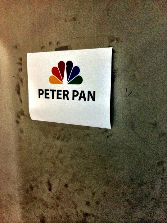 Twitter Watch: Neil Meron Previews NBC's PETER PAN Photo Shoot!