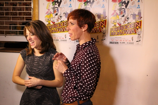 Photo Coverage: Christina Bianco Joins FORBIDDEN BROADWAY!