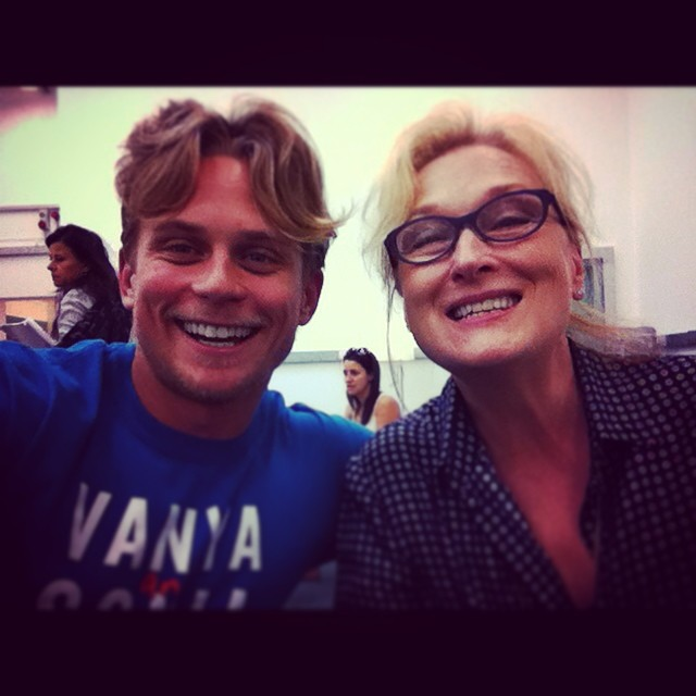 Meryl Streep & Billy Magnussen Behind The Scenes Of INTO THE WOODS