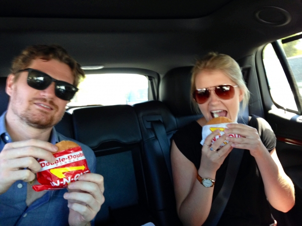 Photo Flash: ONCE National Tour Stars Ryan Link and Dani De Wall Go on a True SoCal Adventure