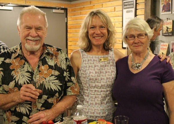 Chance Members Bob Cody and Marilyn Krist with Board Member Susie Dittmar (center)