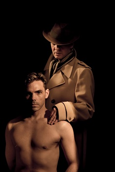 Marcel Meyer as Oliver Winemiller and Nicholas Dallas as the Client