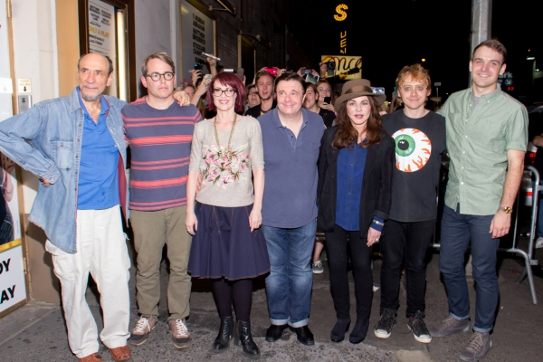 F. Murray Abraham, Matthew Broderick, Megan Mullally, Nathan Lane, Stockard Channing, Rupert Grint, Micah Stock
