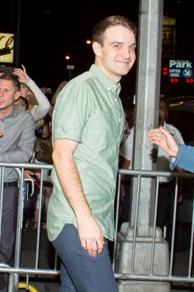 Photo Coverage: IT'S ONLY A PLAY Stars Greet Fans at Schoenfeld Theatre Stage Door!