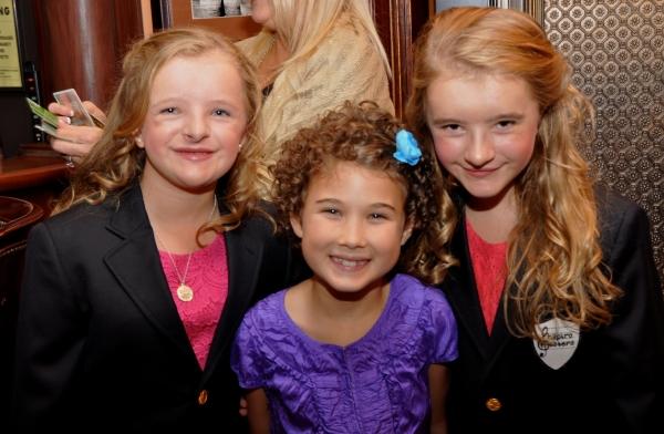 Millie Shapiro, Lilly Mae Stewart and Abigail Shapiro