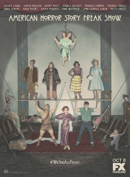 AMERICAN HORROR STORY Releases FREAK SHOW Poster