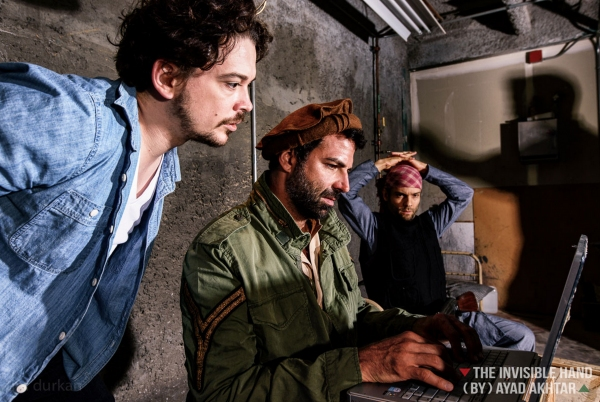 Photo Flash: Publicity Shots for A Contemporary Theatre's THE INVISIBLE HAND
