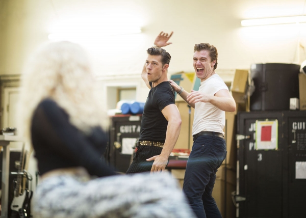 Photo Flash: Tim Driesen, Stephen Webb & More in Rehearsal for JERSEY BOYS UK Tour!