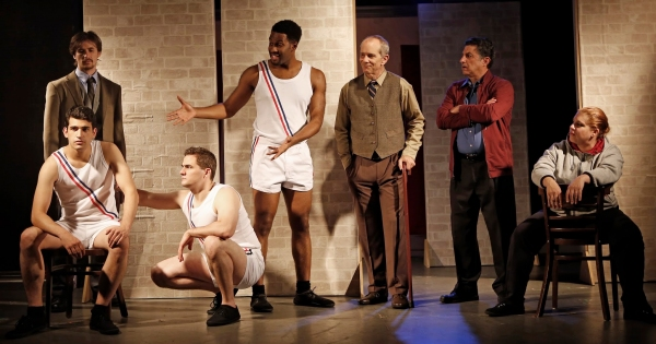 Tim Dowd (back), Joshua Quat (front), Michael Engberg, Darrell Purcell, Jim DiMunno, Photo
