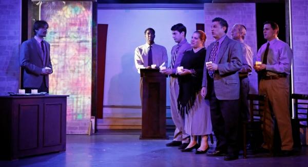 Tim Dowd, Darrell Purcell,; (front row) Joshua Quat, Leslie C. Nemet, Stewart A. Schn Photo