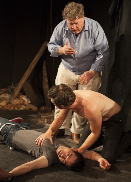 Photo Flash: In Rehearsal for MOJO at the White Bear Theatre