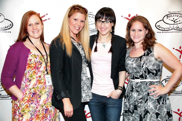 Ashleigh Junio, Jennifer Johns, Lena Hall, and Michelle R. Lehrman