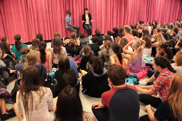 Photo Flash: HEDWIG's Lena Hall Surprises Broadway Artists Alliance Summer Intensive Students