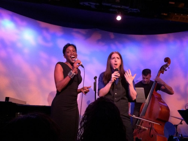 "Tanya Holt and Jason Morris sing Leonard Cohen''s ""Hallelujah'' Photo"
