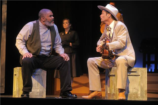 BWW Reviews: Riverside Center's HANK WILLIAMS: LOST HIGHWAY Brings Legend to Life in Story and Song