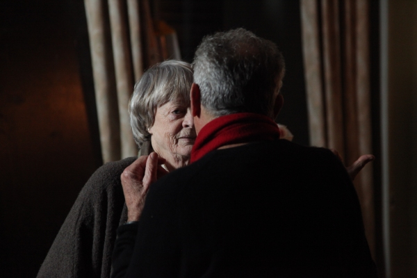 Israel Horovitz and Maggie Smith