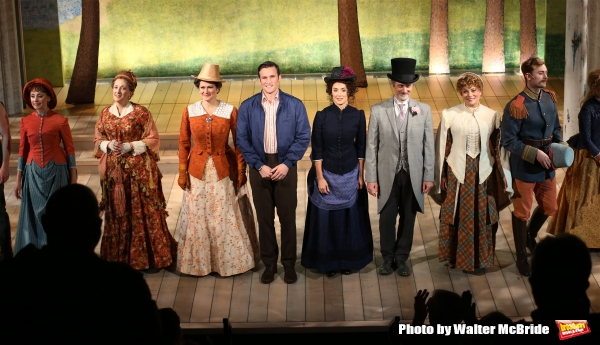 Exclusive Photo Coverage: SUNDAY IN THE PARK WITH GEORGE Cast Takes Bows at Signature Theatre