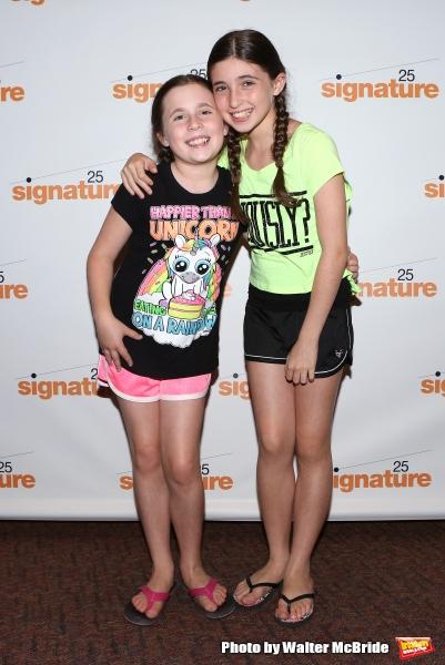 Lucy Alexa Herman and Sadie Rose Herman