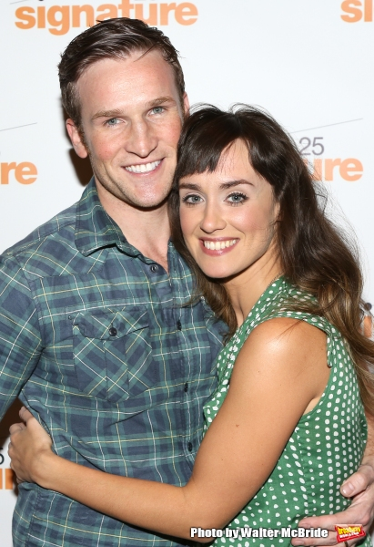 Exclusive Photo Coverage: Backstage with the Cast of Signature's SUNDAY IN THE PARK WITH  GEORGE