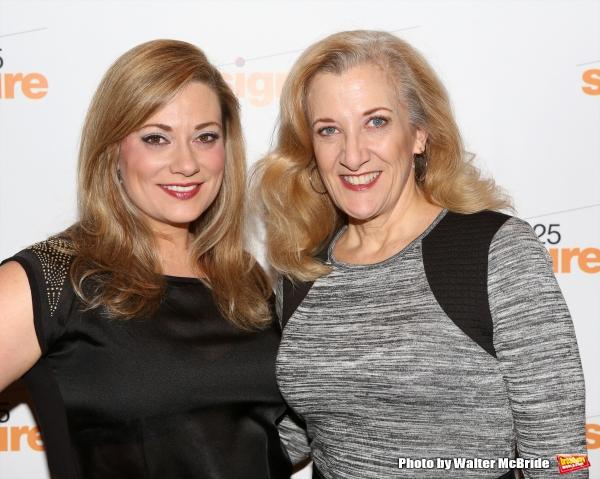 Maria Egler and Donna Migliaccio