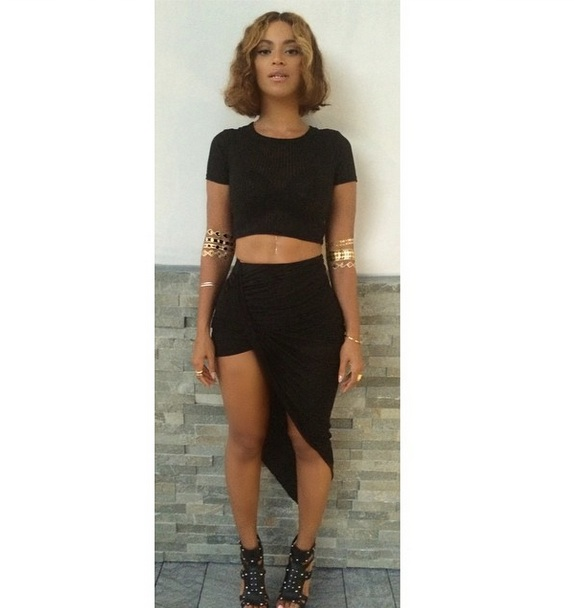 Beyonce Reveals New Cropped Hairdo on Instagram